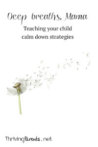 Sometimes emotions are too big for our children to be able to process. It's important we teach them to manage them and that starts with teaching them these 3 ways to calm themselves down.