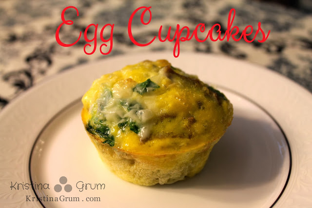 Recipe:  Egg Cupcake take 2
