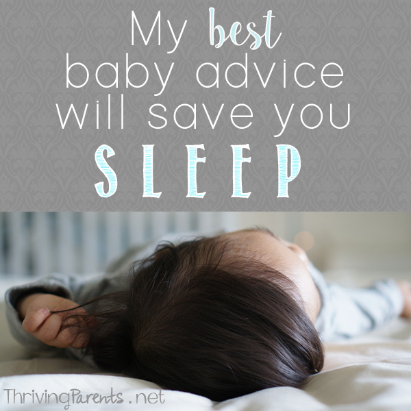 My best baby advice will save you sleep and frustration in the middle of the night.
