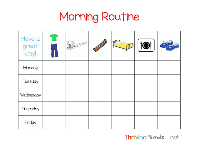 5 Tips For A Morning Routine That Works Printable