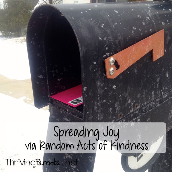 Kindness is contagious. It spreads like wildfire. Start spreading joy by doing random acts of kindness for others.