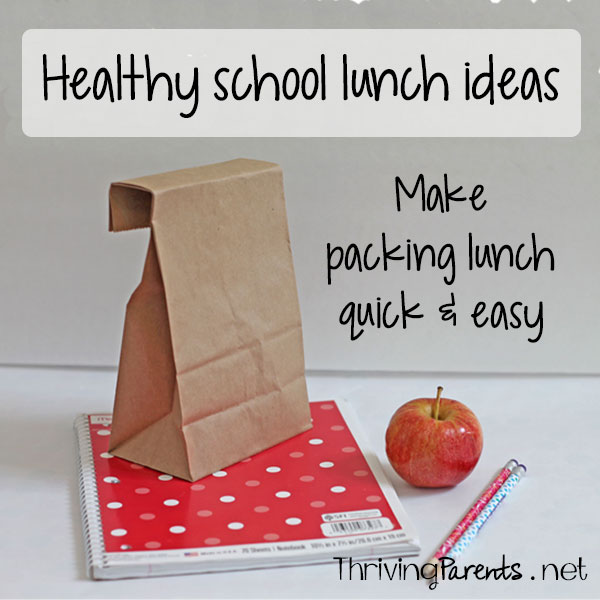 Do you dread the idea of packing a school lunch? Make packing school lunch quick and easy with this comprehensive list of school lunch ideas.