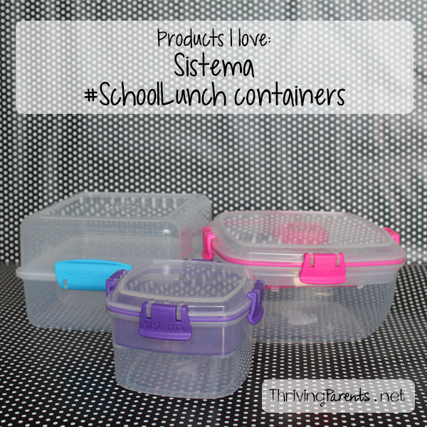 I've searched high and low and these are hands down the best school lunch containers we've found. Plus, they fit in any size lunch box.