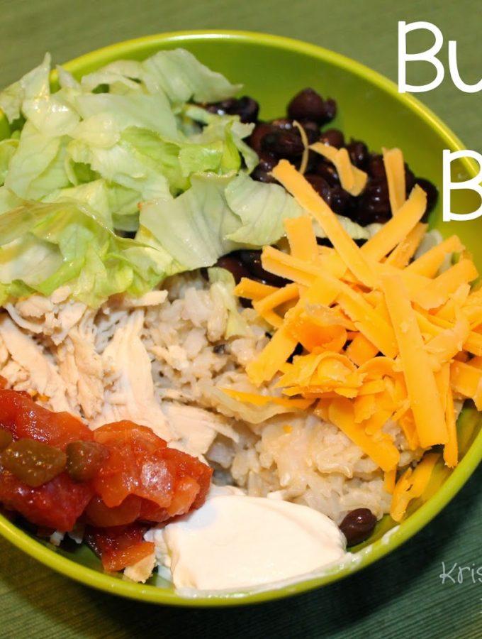 Recipe: Burrito Bowls