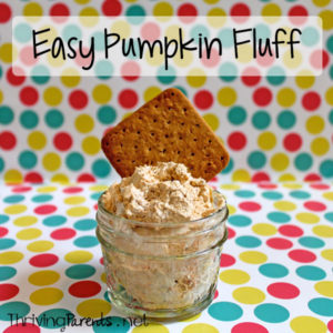 This soft and light pumpkin fluff is so easy to make and is a great dessert or sweet snack.