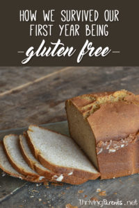 I didn't know how or if we could survive gluten free but we did. Here are some common problems we encountered in our 1st year and how we solved them.