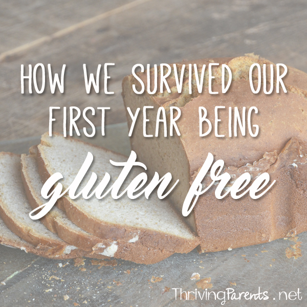 How we survived our 1st year being Gluten Free