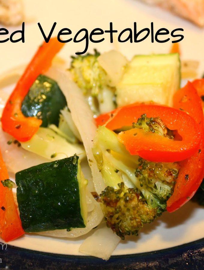 Recipe: Roasted Vegetables