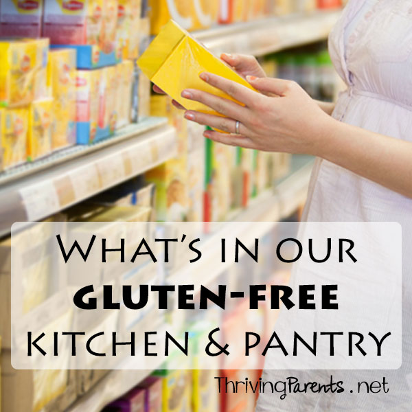 What's in our Gluten Free kitchen & pantry