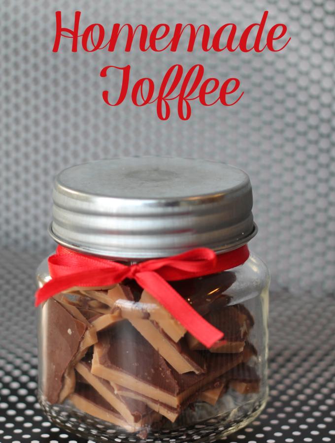 Recipe:  Homemade Toffee