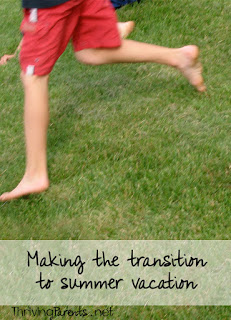 Summer vacation is always an exciting time but the transition to summer or school breaks can be a difficult one for some kids. Here's how to make the transition to summer easier.