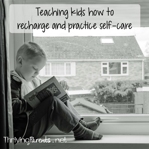 Teaching kids how to recharge and practice self-care