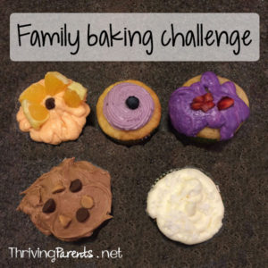 We did a family baking challenge and I officially think our kids know more about baking than I do.