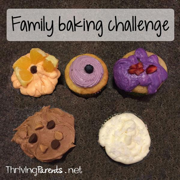 Family baking challenge