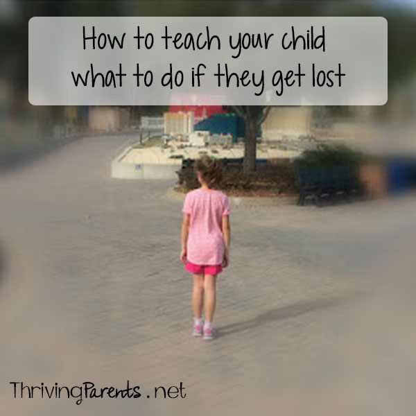 How to teach your child what to do if they get lost