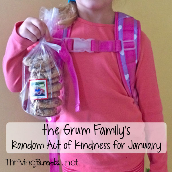 Our family has completed January's Random Acts of Kindness! What can you do for someone this month?