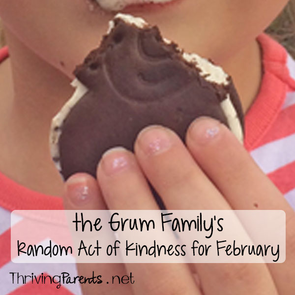 Our family has completed February's Random Acts of Kindness! What can you do for someone this month?