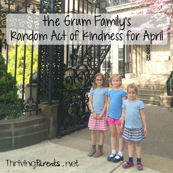 April's Random Act of Kindness