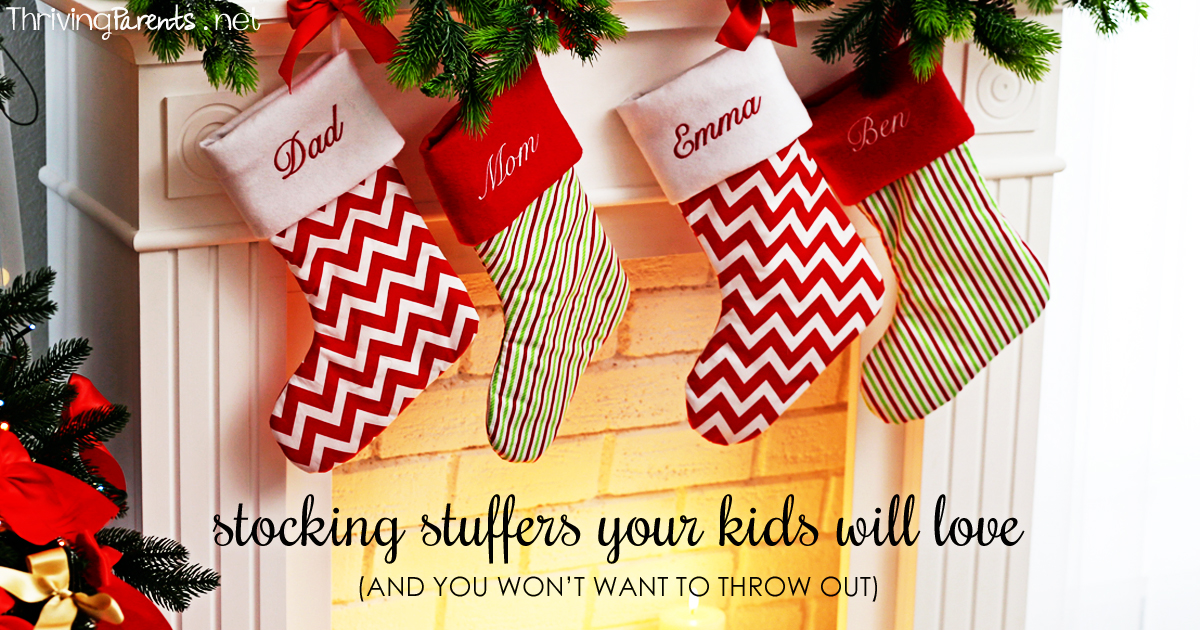 Stocking stuffers your kids will love and you wont want to throw stocking stuffers your kids will love and you wont want to throw out thriving parents solutioingenieria Images