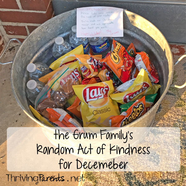December's Random Act of Kindness
