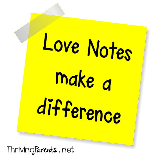 Love Notes make a difference
