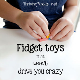 Fidgets are great for kids who need help focusing, calming, or keeping their hands busy. Fidget spinners are everywhere but can be distracting to others. Here's a list of fidgets that are quiet and don't distract others.