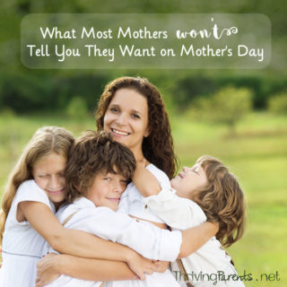 Mother's Day can be stressful for everyone. Make it easy by giving one of these 5 gifts that most moms won't tell you they want for Mother's Day.