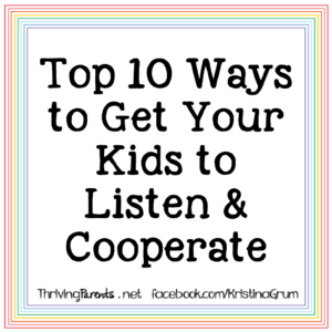 "Zoom workshop - ""Top 10 Ways to Get Your Kids to Listen & Cooperate"". This workshop will give you some magical tips and tools to get your kids to listen, cooperate and work as a team without threats and bribes."