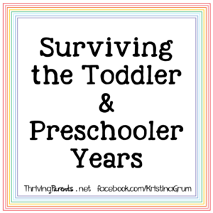 "Monday, December 7, 2020, I am teaching a Zoom workshop - ""Surviving the Toddler & Preschooler Years"". We'll talk about how a child's brain develops and why they act the way they do. We'll also talk about how to respond to toddlers & preschoolers so you can start to see the behaviors you want."